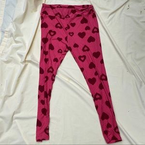 Heart TC Lularoe new leggings